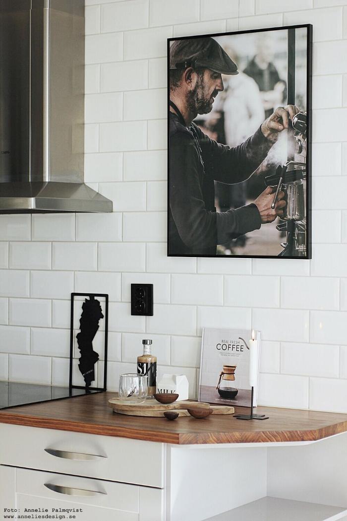 annelies design, webbutik, sverigeunderlägg, underlägg, kaffe, kaffeböna, kaffebönor, inredning, poster, barista, tavla, tavlor, kök, köket, köks, nicolas vahe, kaffesirap, mugg, dubbla glas, dekoration,