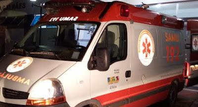 Jovem sofre acidente de moto em Mairi