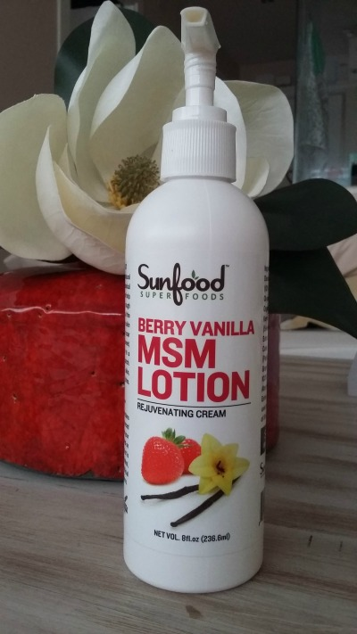 Sunfood Berry Vanilla MSM Lotion
