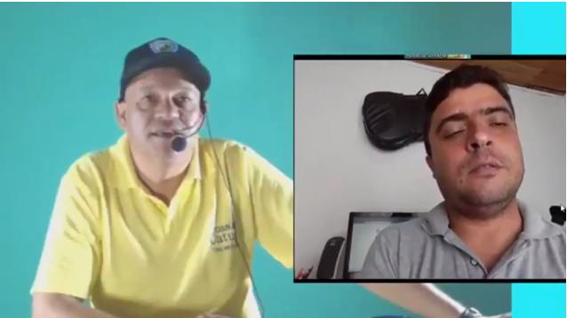 Conversamos com o Radialista Juliano Barbosa da cidade de Jardim Alegre