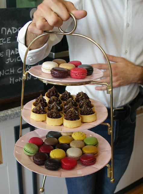 Chez Mademoiselle, Prahran, chocolate tarts, macarons