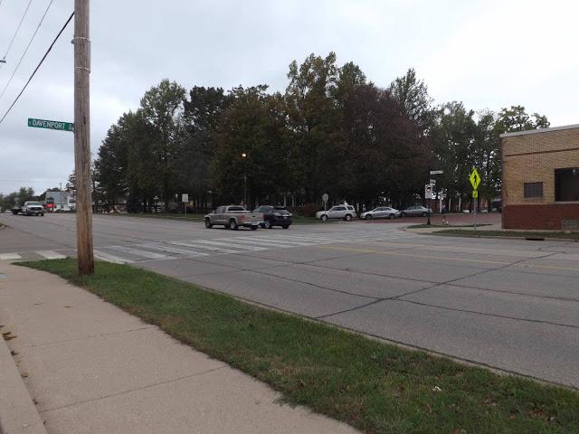 Editorial: Crosswalk at 116 & Davenport, Metamora Herald