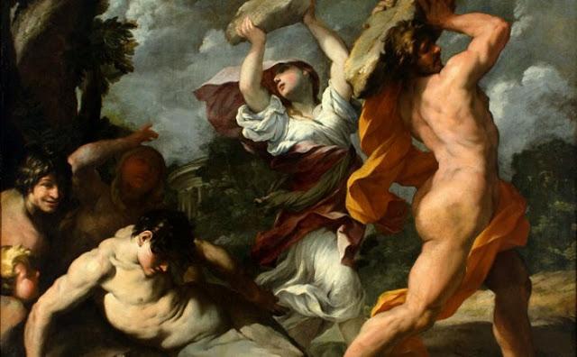 Ο Κατακλυσμός του Δευκαλίωνα και τα αδέλφια Γραικός, Έλληνας, Μάγνης και Μακηδόνας