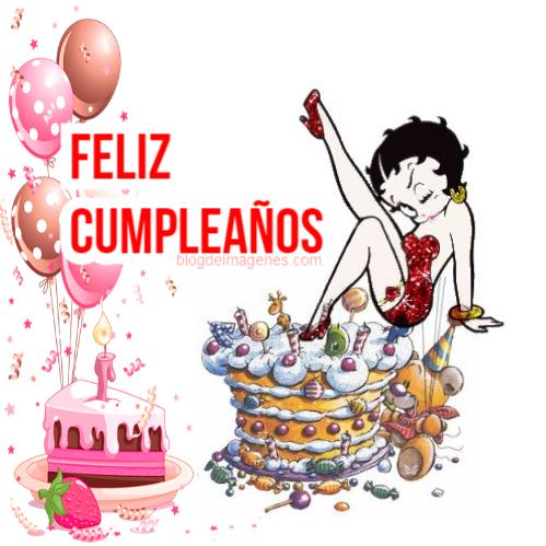 Feliz cumpleaños Betty Boop - Blog de imágenes
