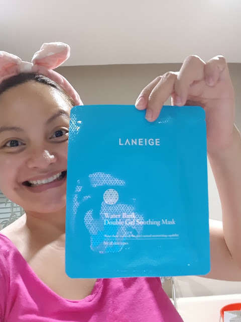 Laneige Water Bank Double Gel Soothing Mask