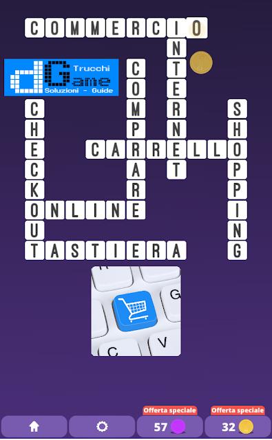 Soluzioni One Clue Crossword livello 24 schemi 10 (Cruciverba illustrato)  | Parole e foto