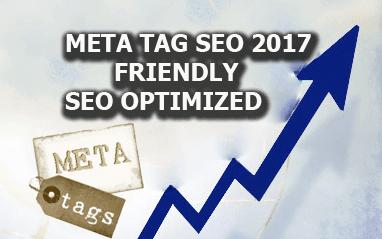 Meta Tag SEO Friendly 2017 Seo Otimizado