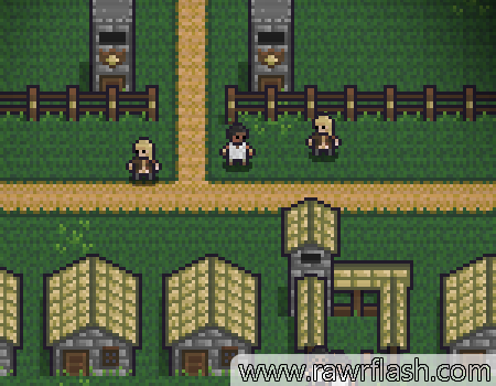 Jogos de rpg, sobrevivência: Towncraft II