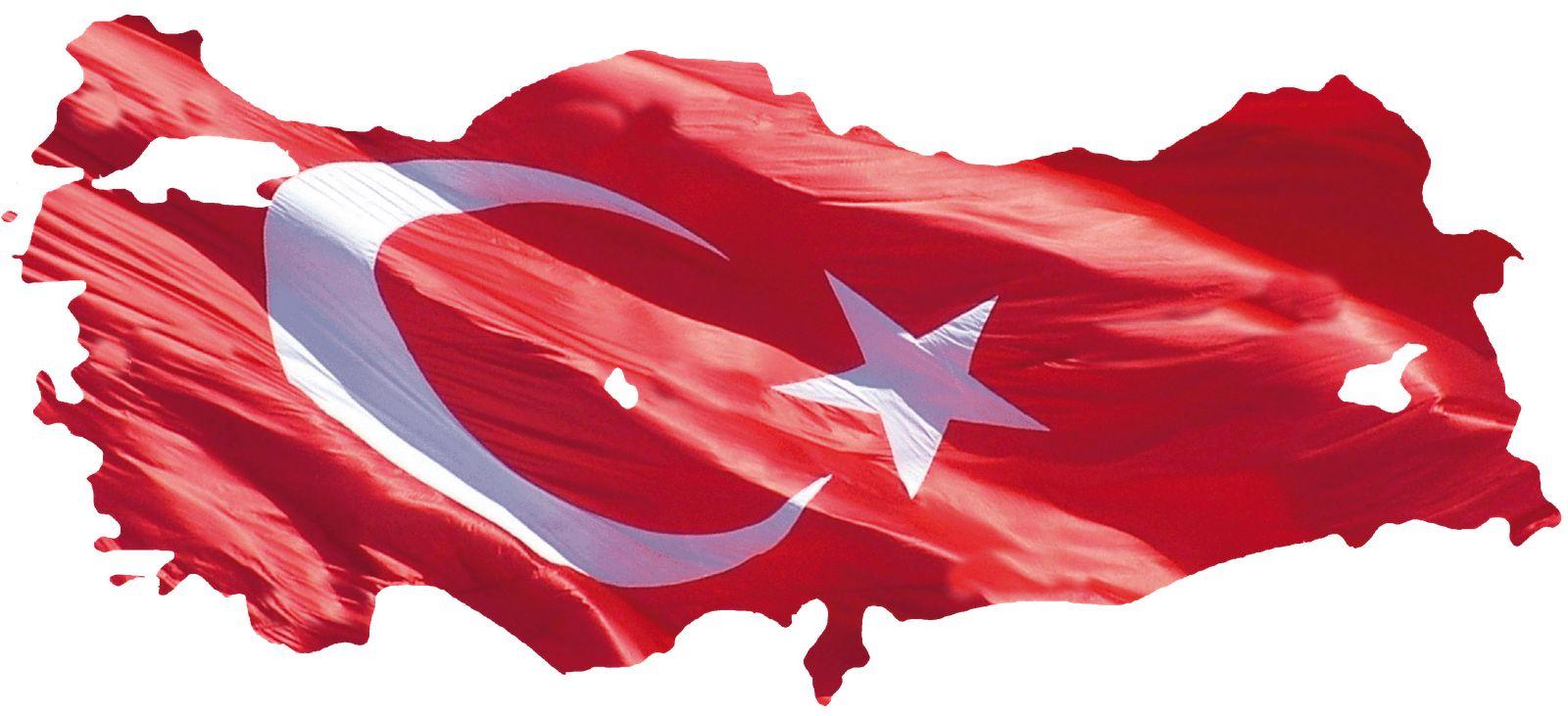 Türk Bayraklı Türkiye Haritası Resimleri Türk Bayrakları