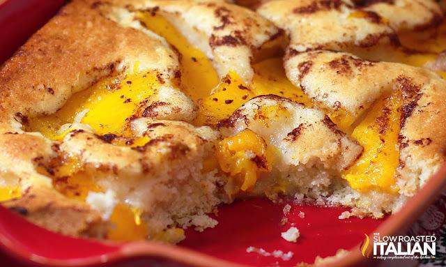 Perfect Peach Cobbler Dump Cake