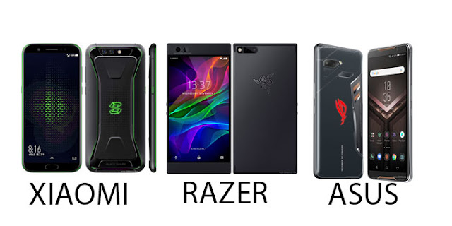Xiaomi razer asus