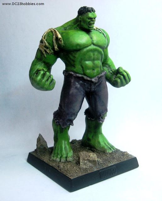 Incredible HULK mini statue painted by DC23 photo