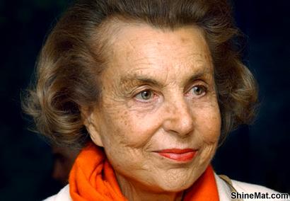 Richest People Liliane Bettencourt