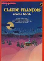 Disque livre Claude Francois chante Noel