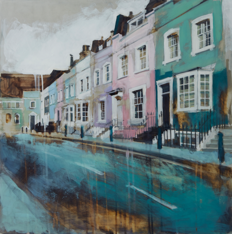 05-Terrace-Bywater-Street-Chelsea-Camilla-Dowse-Soothing-Architectural-Acrylic-Paintings-www-designstack-co