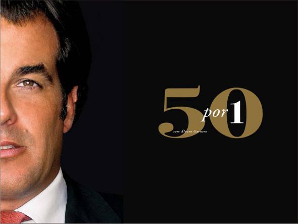 Saiba tudo sobre o programa 50 por 1 com Álvaro Garnero - foto: divulgação