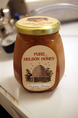 Pure Nelson Thyme Honey