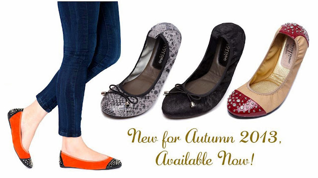 Ballerina flats for women