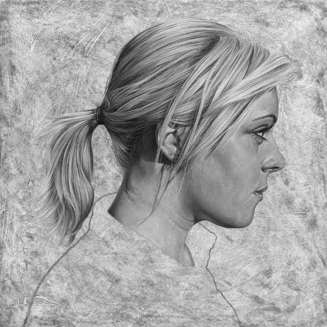 Реалистичные портреты акрилом. Steve Caldwell