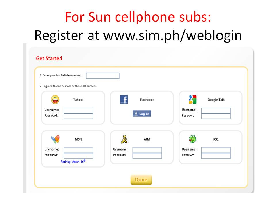 Sun iMessenger: Chat With Your Loved Ones Via SMS! ~ Wazzup