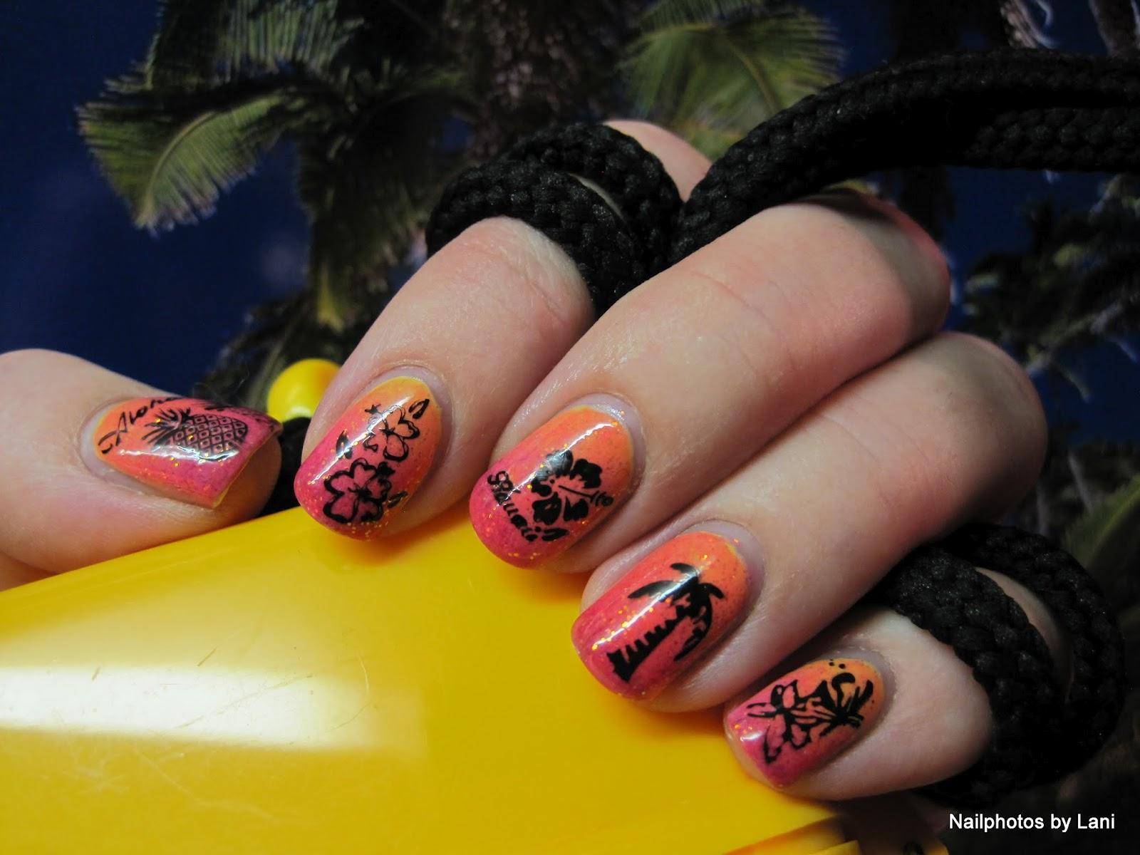 Nailphotos by Lani: Hawaii nails