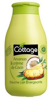 Cottage - Ananas &Crème de Coco - Gel Douche Lait Energisante
