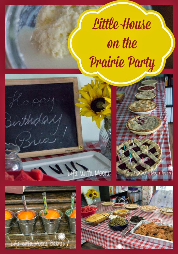 Little House on the Prairie Party