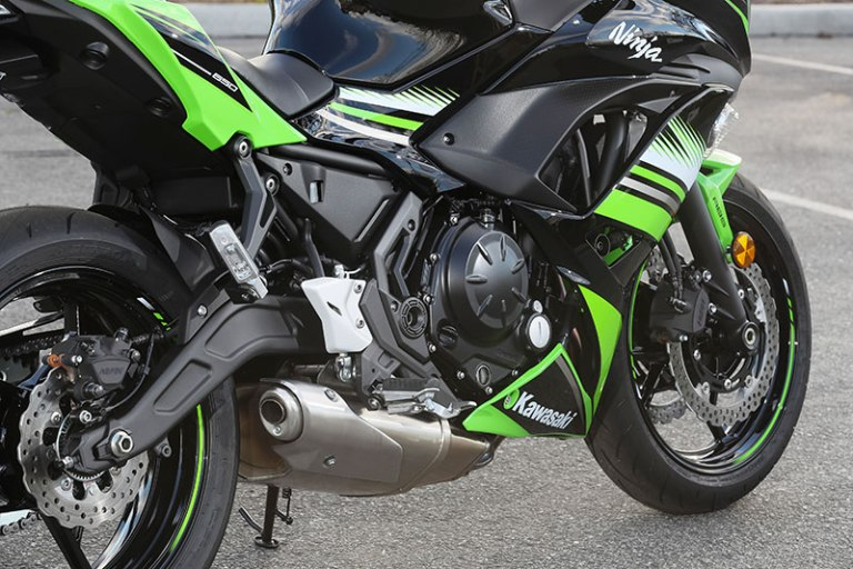 The Kawasaki Ninja 650s Engine Has Been Changed For Much Better Midrange And Also Less Weight Together Brand New Framework Swingarm Conserve 25