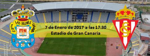 Previa UD Las Palmas - Sporting Gijón 7 Enero 2016 17:30