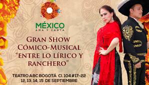 MEXICO AMA Y CANTA en Bogotá