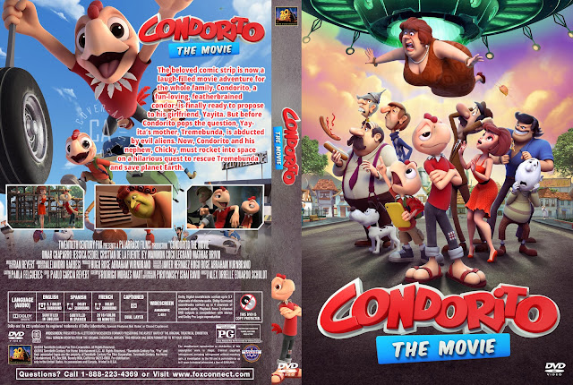 Condorito The Movie DVD Cover