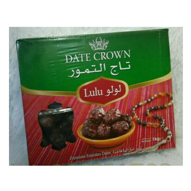 Kurma Lulu Date Crown 1 Kg