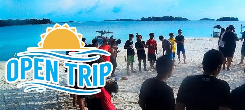 open trip pulau harapan kepulauan seribu utara