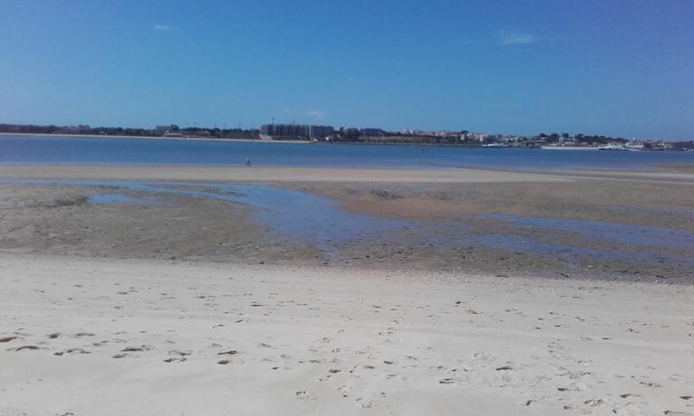 Maré Baixa Rio Tejo