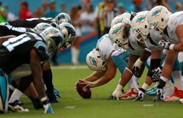Time Miami Dolphins jogando