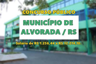Apostila concurso Prefeitura de Alvorada 2017