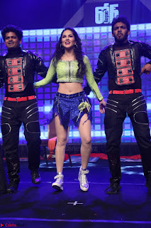 Sunny Leone Dancing on stage At Rogue Movie Audio Music Launch ~  133.JPG