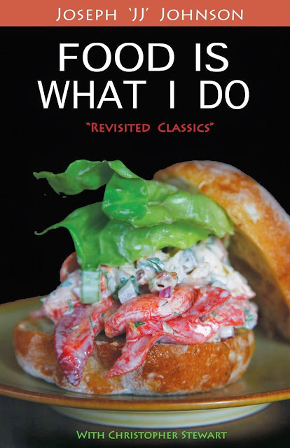 cookbook, Chef JJ, Christopher Stewart, Food is What I Do, Amazon, Barnes & Noble,