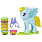 My Little Pony Rainbow Dash Style Salon Rainbow Dash Figure by Play-Doh