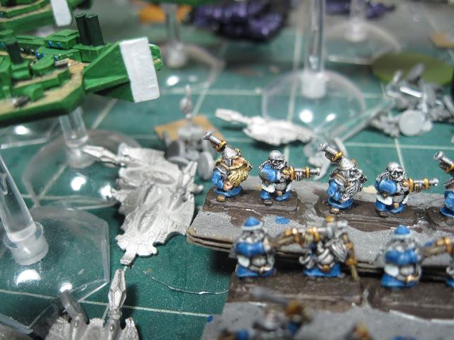 Warmaster Dwarf Thunderers