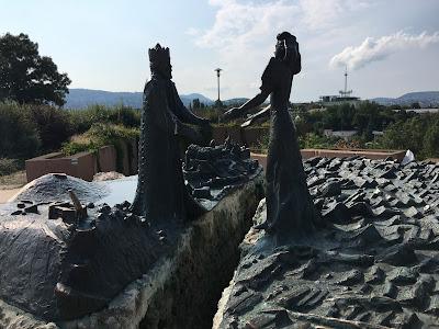 gellert hill garden of philosophy budapest hungary prince buda princess pest