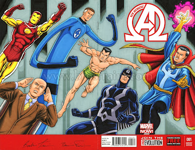 NEW AVENGERS #1 Sketch Cover!
