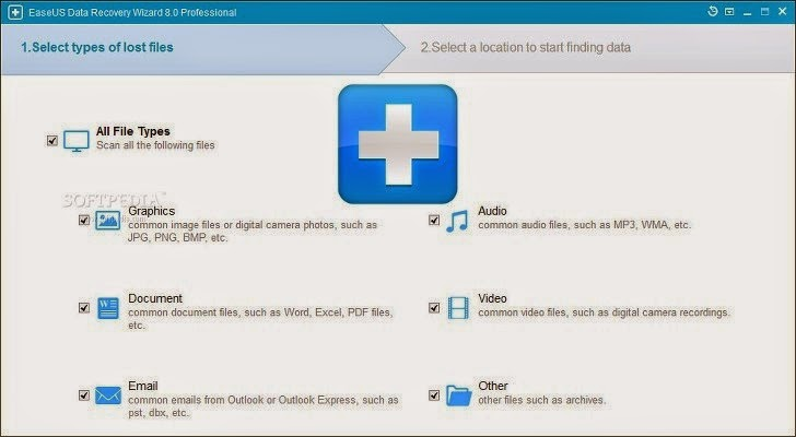 EaseUS Data Recovery Wizard Professional 8.5 Free Download