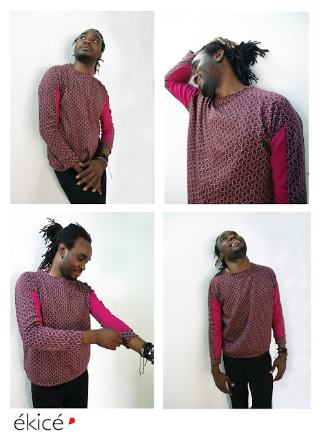 unisexe mode homme ékicé ekice motif créatrice créateur fabriqué en France