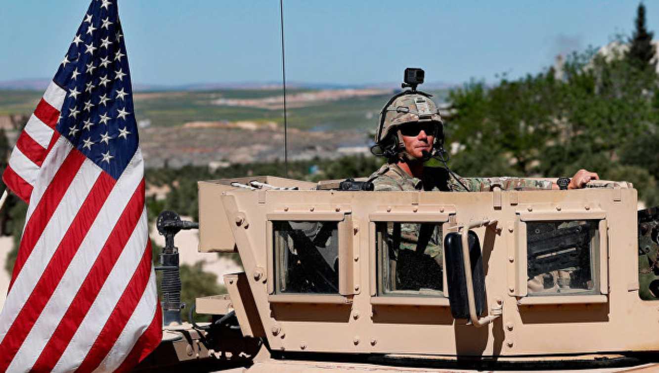Pasukan koalisi yang dipimpin AS melakukan latihan di timur Suriah