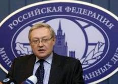 il viceministro degli esteri russo Sergey Ryabkov