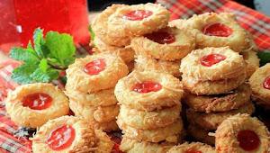 Resep Enak Kue Kering Strawbery Terbaru.