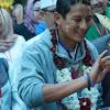 Tiba Di Palangkaraya, Sandiaga Disambut Upacara Budpekerti Dayak