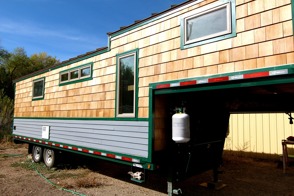 8 Staycation Worthy Tiny Homes For Sale: TINY HOUSE TOWN: Fort Collins Tiny House (256 Sq Ft