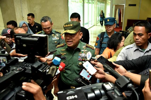 Panglima TNI :  Pembangunan Satuan TNI di Lima Pulau Terluar Strategis Tetap Dilanjutkan